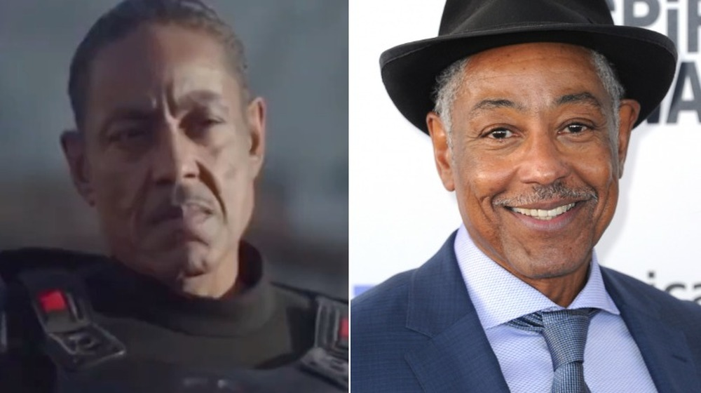 Giancarlo Esposito en The Mandalorian