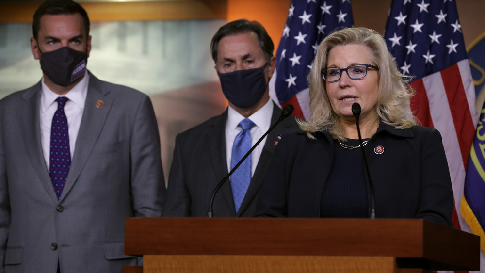 Liz Cheney habla en el congreso