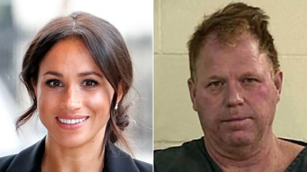 Meghan Markle, Thomas Markle Jr. sonriendo