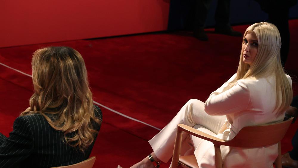Melania e Ivanka Trump en el tercer debate presidencial