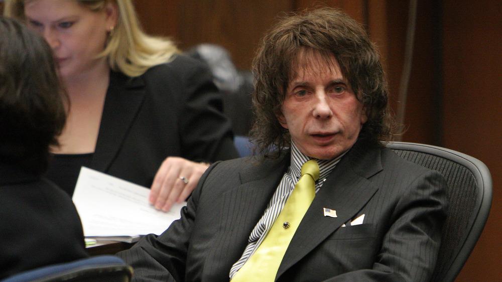 Phil Spector en la corte