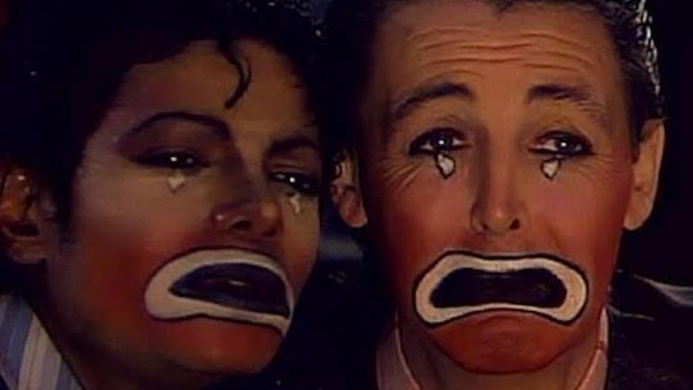 """Michael Jackson y Paul McCartney en el video """"Say, Say, Say"""""""