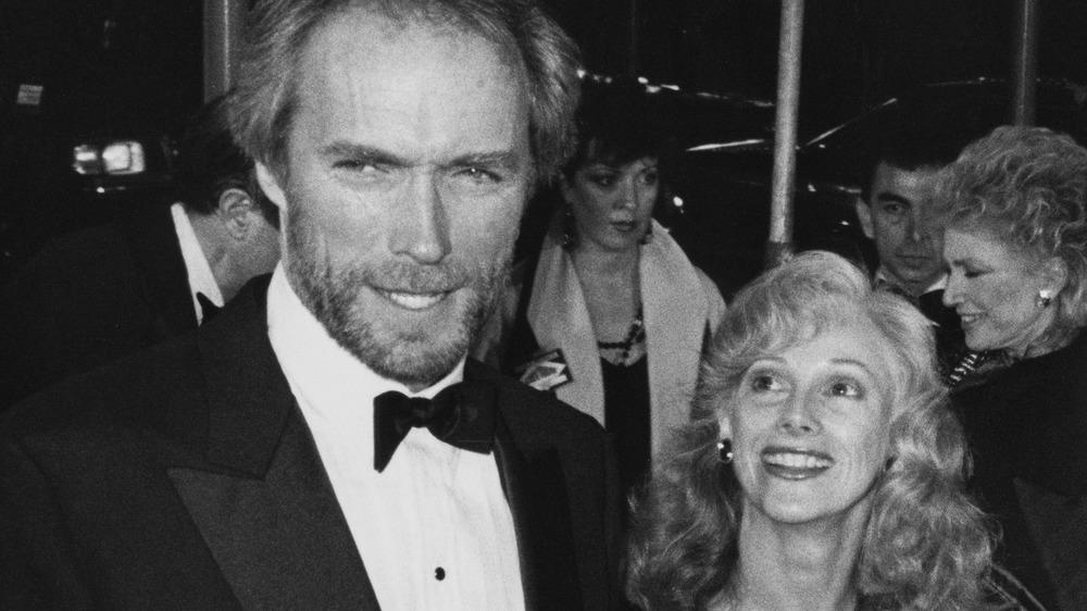 Clint Eastwood y Sondra Locke en el evento