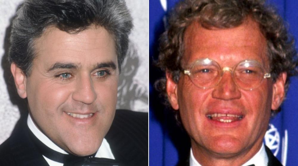 Jay Leno y David Letterman se separan