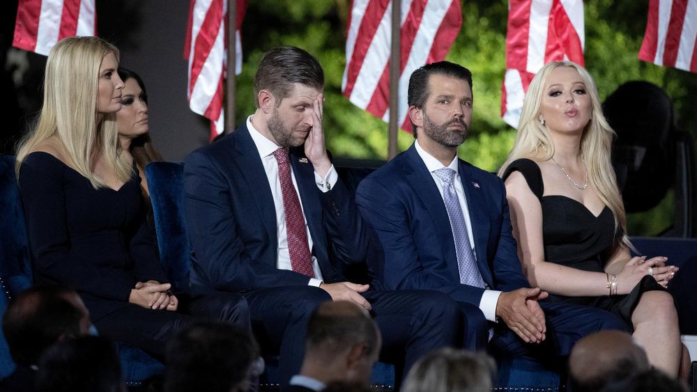 Niños de Trump en evento de la Casa Blanca