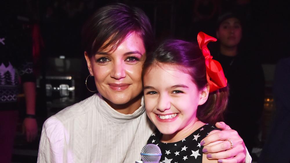 Katie Holmes con su hija Suri Cruise