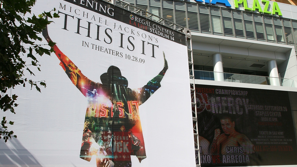 El cartel de This Is It