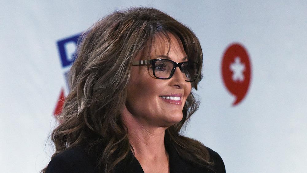 Sarah Palin sonriendo