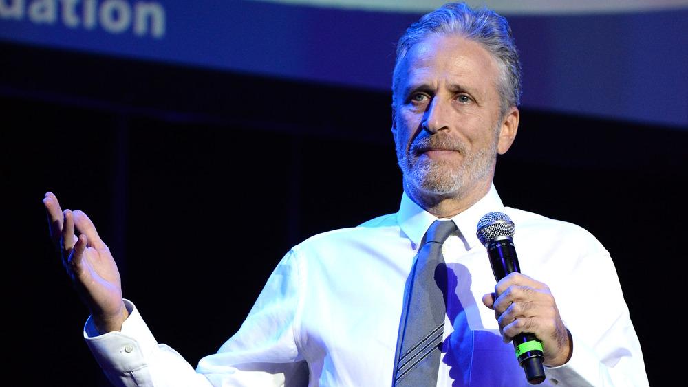 Jon Stewart habla