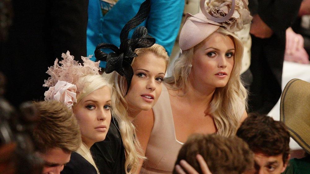 Amelia, Eliza y Kitty Spencer