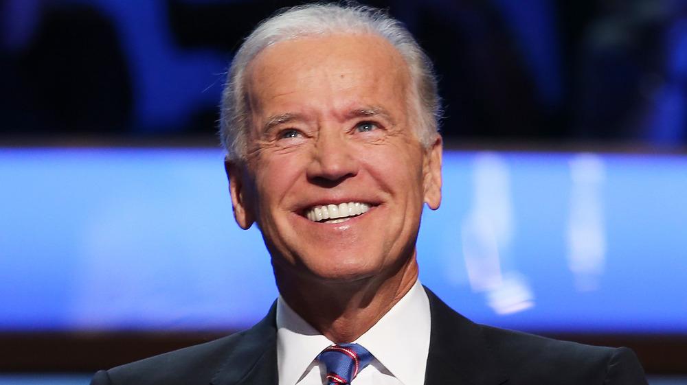 Joe Biden sonriendo