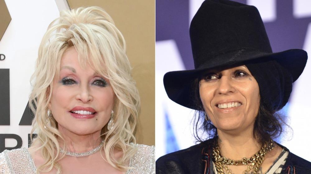 Dolly Parton y Linda Perry dividieron la imagen