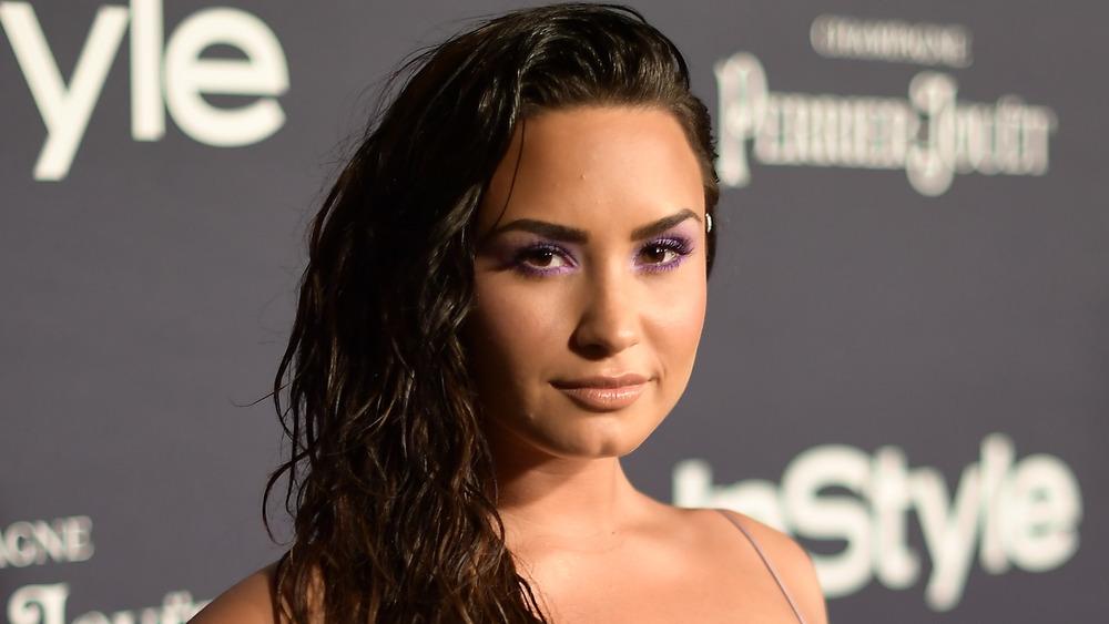 Demi Lovato sonriendo
