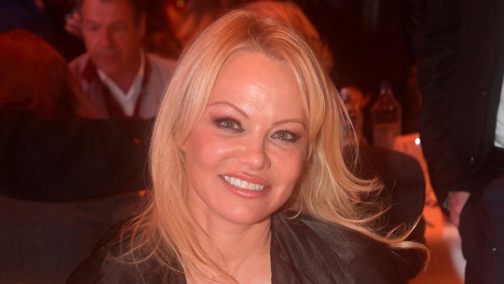 Pamela Anderson en Austria en 2019