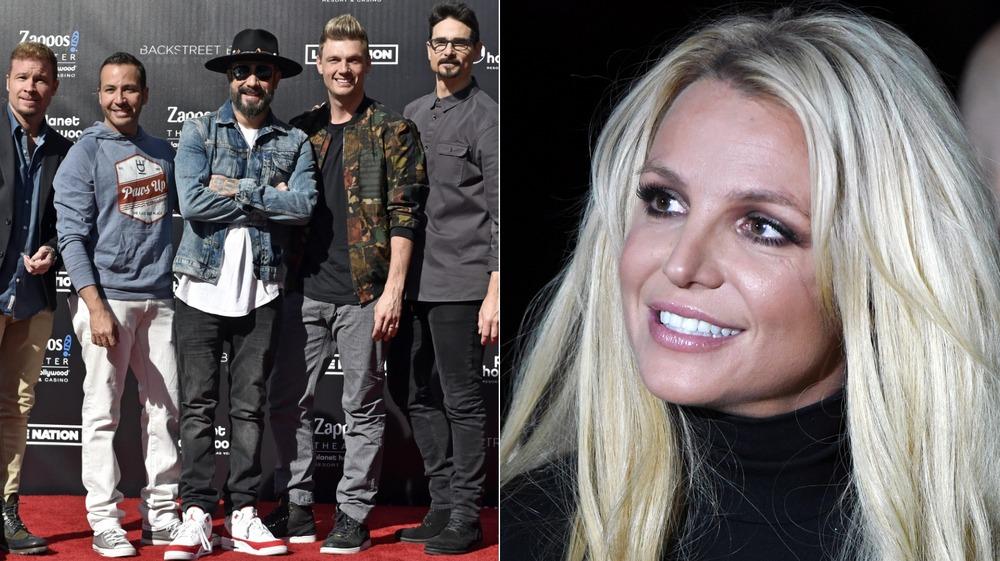 Britney Spears y los Backstreet Boys dividieron la imagen
