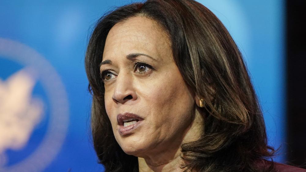La vicepresidenta electa Kamala Harris habla en Delaware
