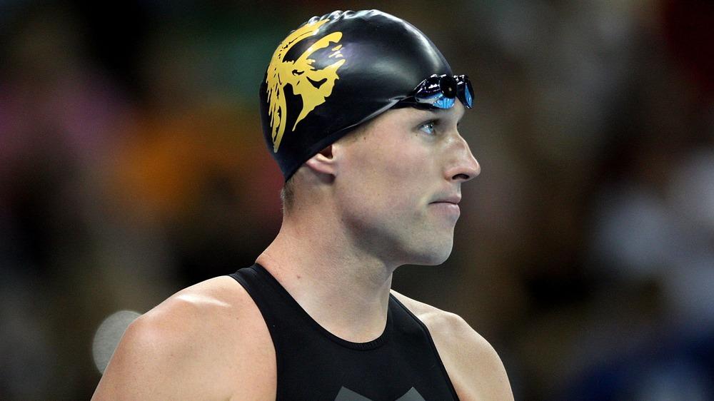 Klete Keller en las pruebas olímpicas de 2008