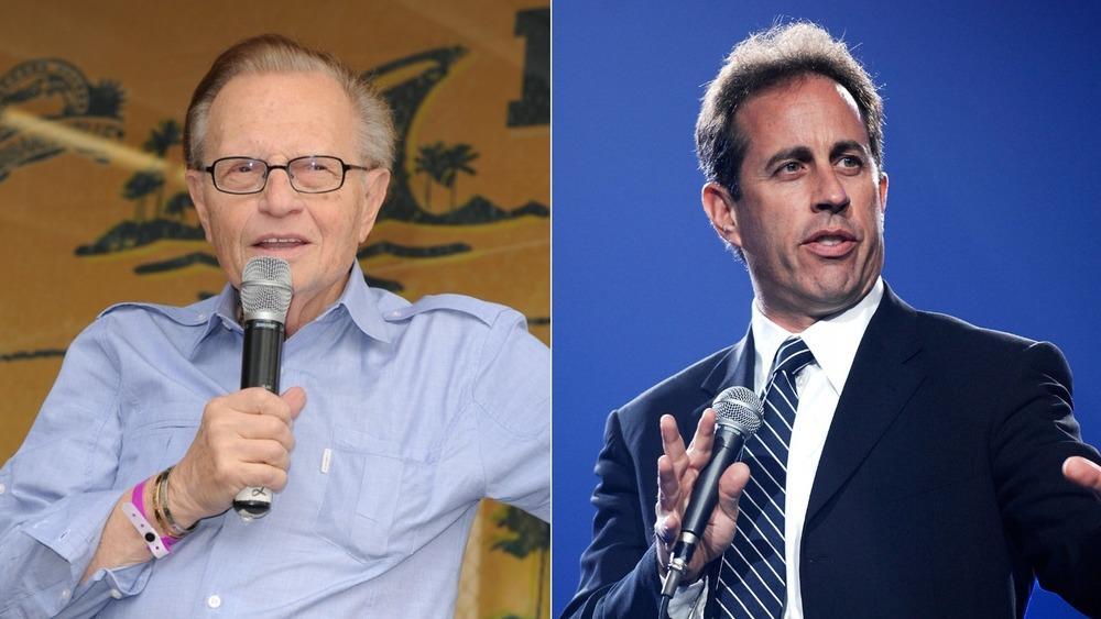 Larry King y Jerry Seinfeld