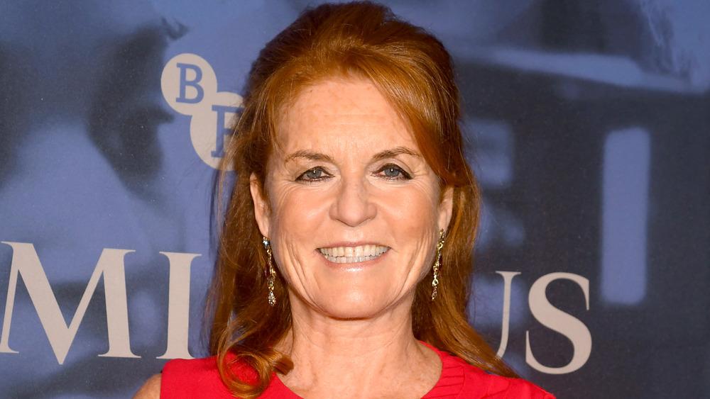 Sarah Ferguson sonriendo