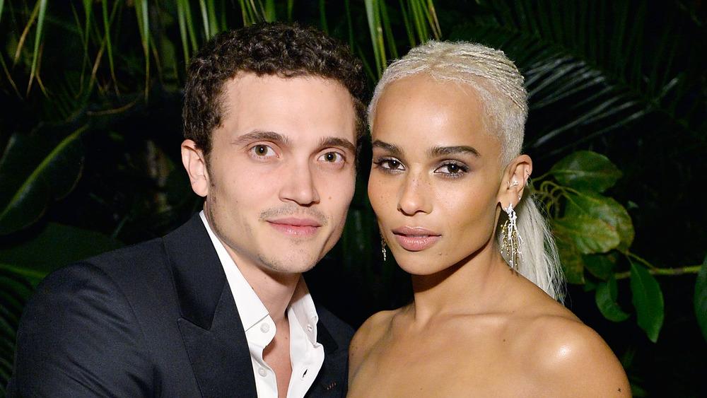 Zoe Kravitz y Karl Glusman asistieron a un evento de Hollywood