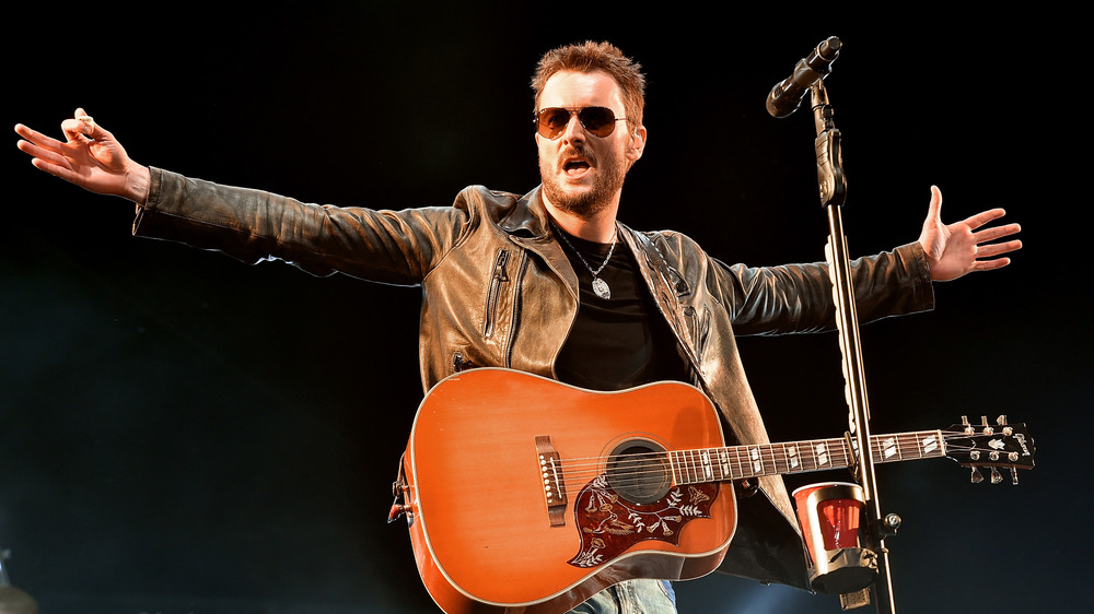 Eric Church en el escenario
