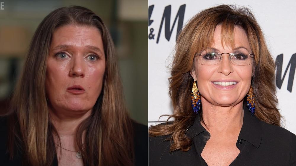 Entrevista a Mary Trump y Sarah Palin posando