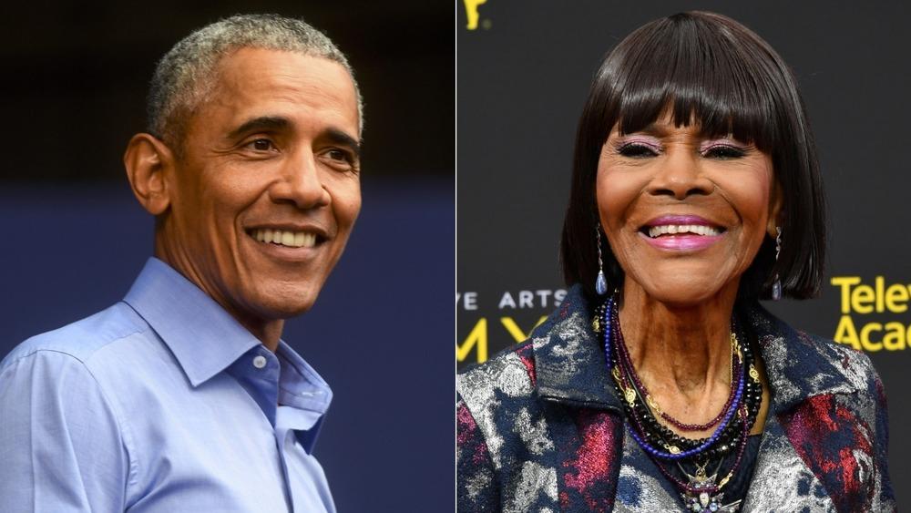 Barack Obama y Cicely Tyson se dividen en imagen