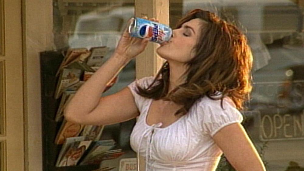 Cindy Crawford en el anuncio de Pepsi de 2002