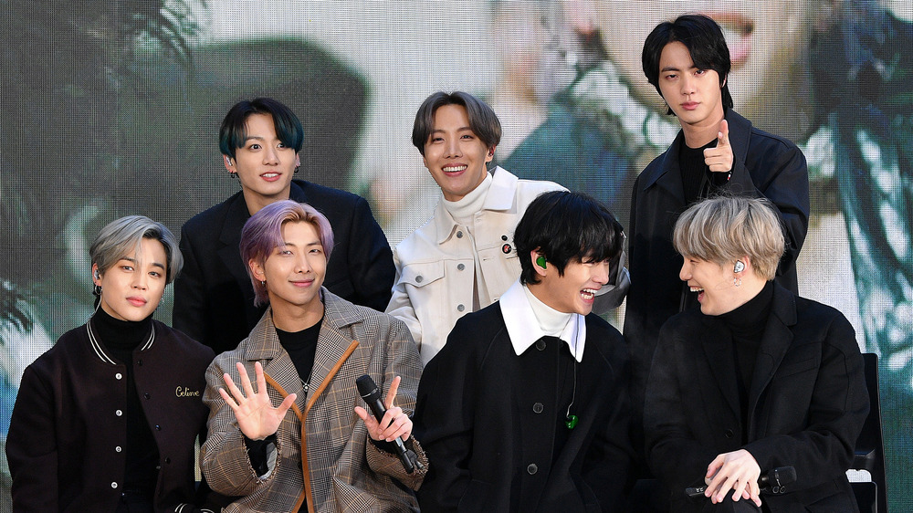 BTS en el escenario