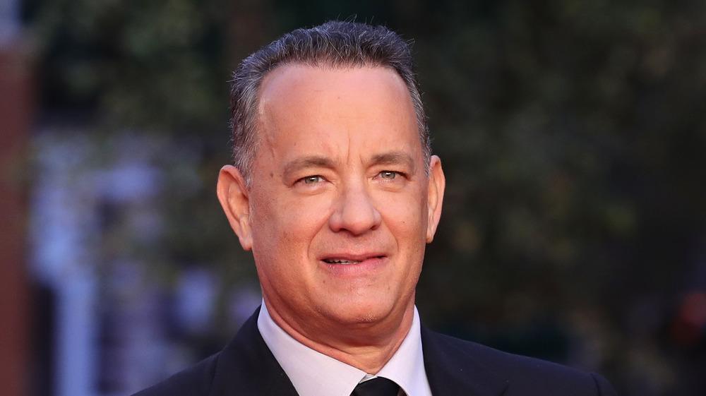 Tom Hanks sonriendo