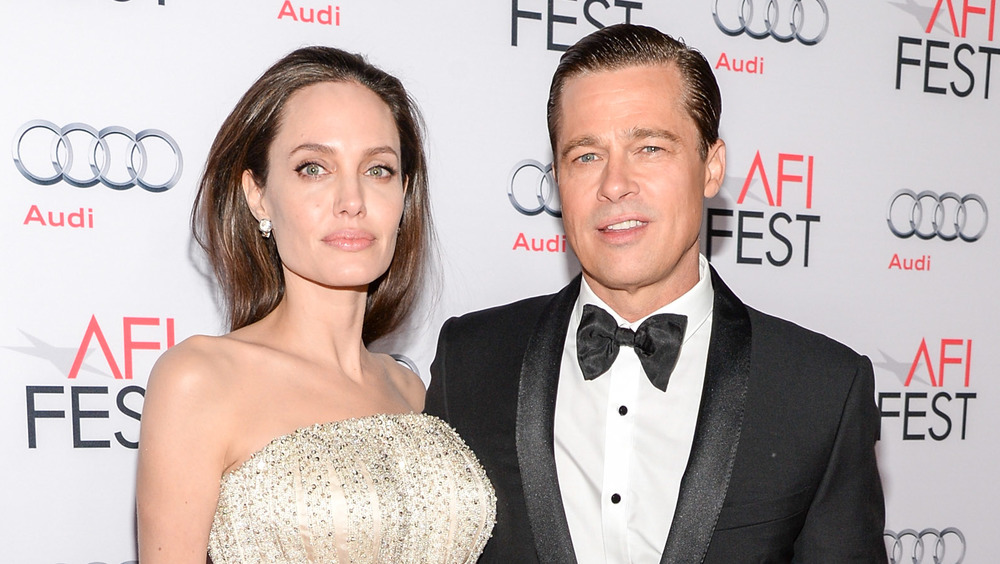 Angelina Jolie y Brad Pitt en la alfombra roja