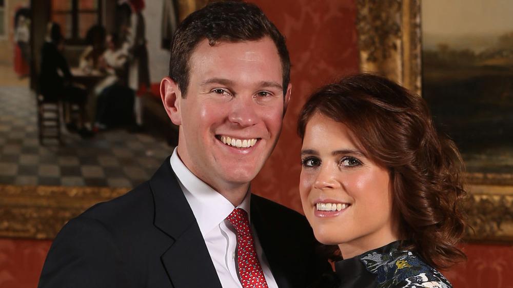 Foto de compromiso de la princesa Eugenia y Jack Brooksbank