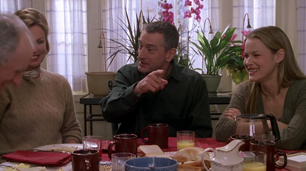 Nicole DeHuff en Conoce a los padres con Robert DeNiro