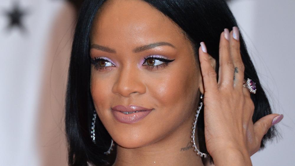Rihanna en los premios BRIT