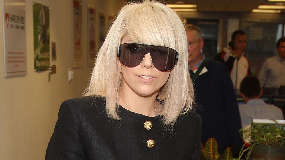 Lady Gaga en un evento benéfico