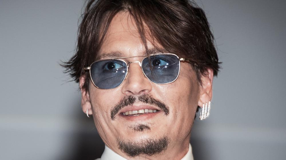 Johnny Depp en un festival de cine