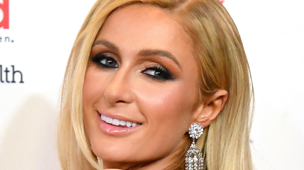 Paris Hilton en un evento