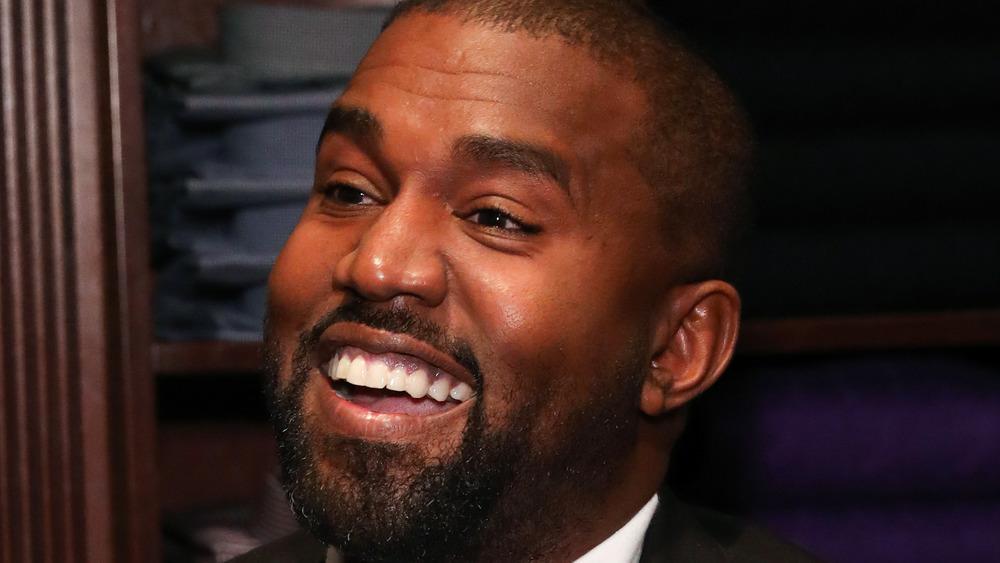 Kanye West en un evento