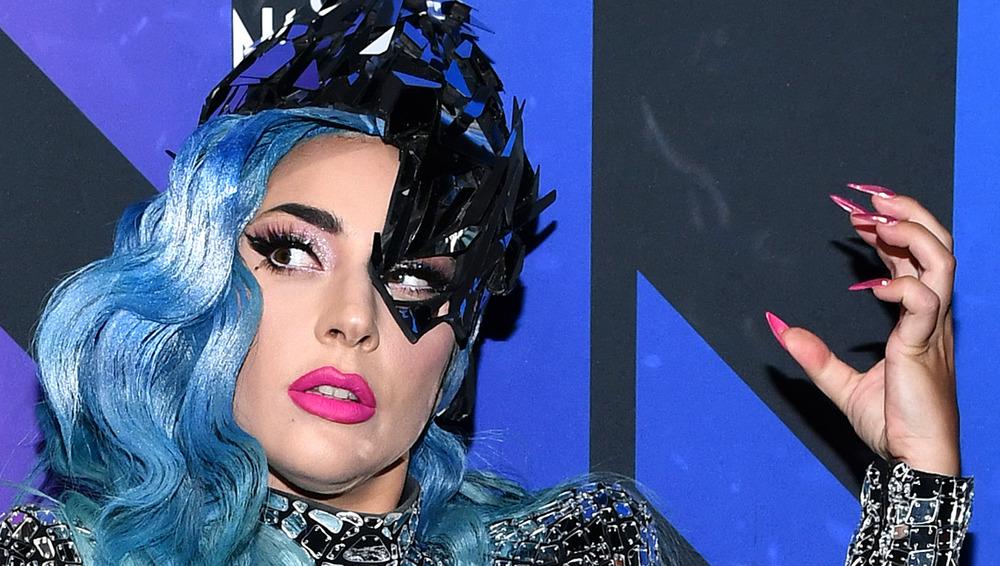 Lady Gaga en un evento