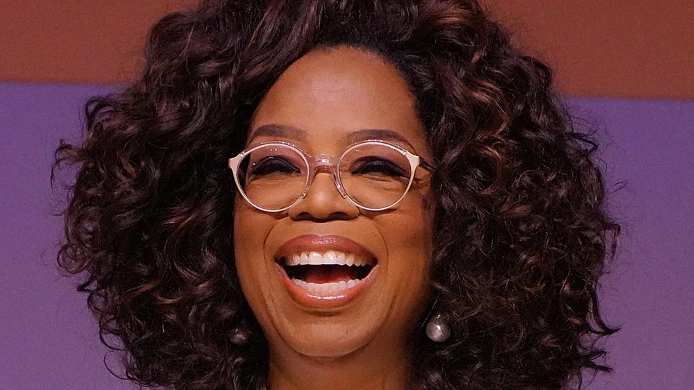 Oprah Winfrey en un compromiso de conferencia