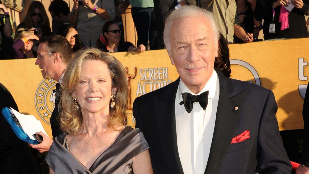 Christopher Plummer y su esposa Elaine Taylor en los premios SAG