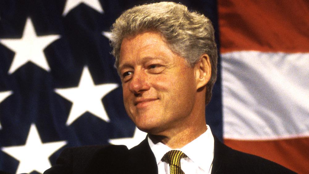 Bill Clinton sonriendo