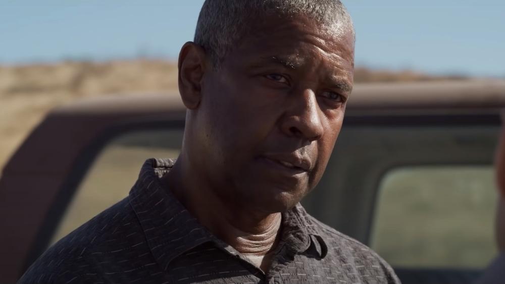 Denzel Washington actuando en 'Las pequeñas cosas'