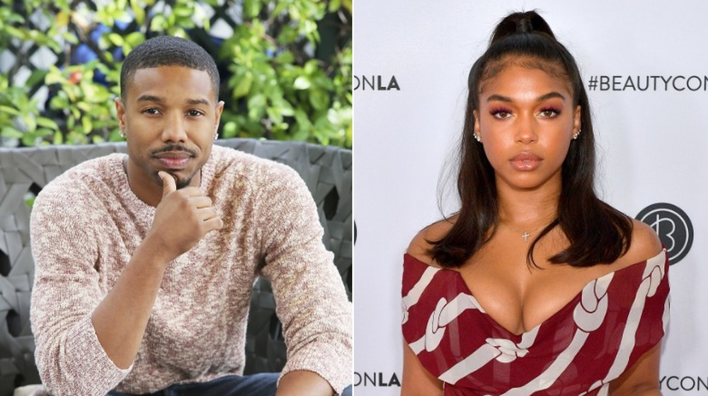 Michael B. Jordan y Lori Harvey