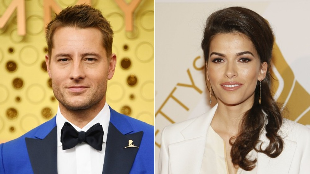Justin Hartley y Sofia Pernas