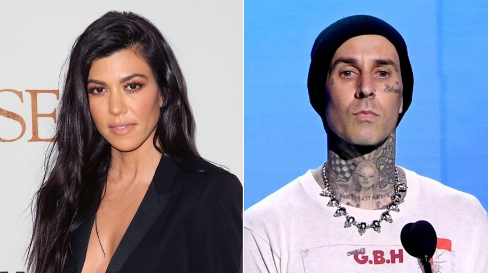 Kourtney Kardashian y Travis Barker