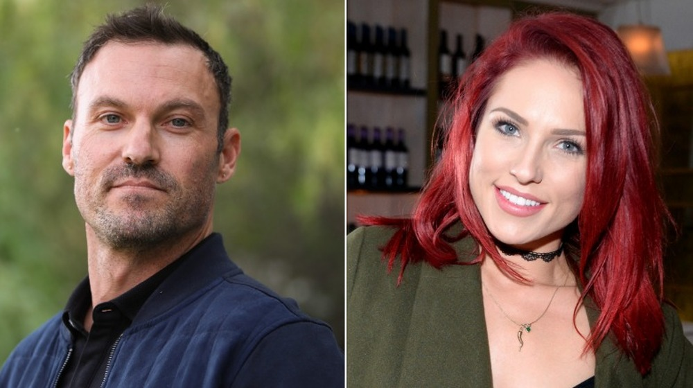 Brian Austin Green y Sharna Burgess