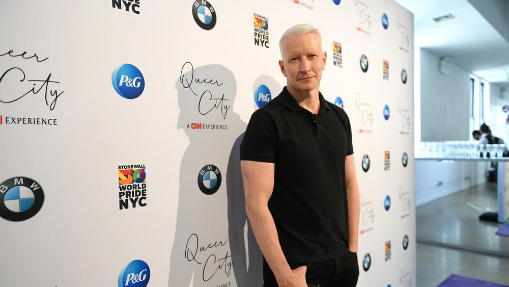 Anderson Cooper en el evento de CNN