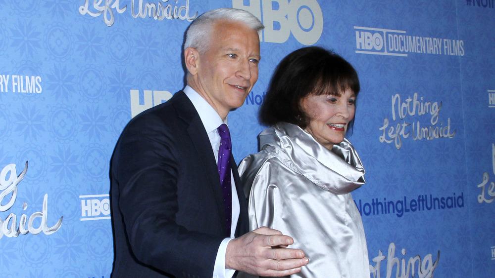 Anderson Cooper y Gloria Vanderbilt