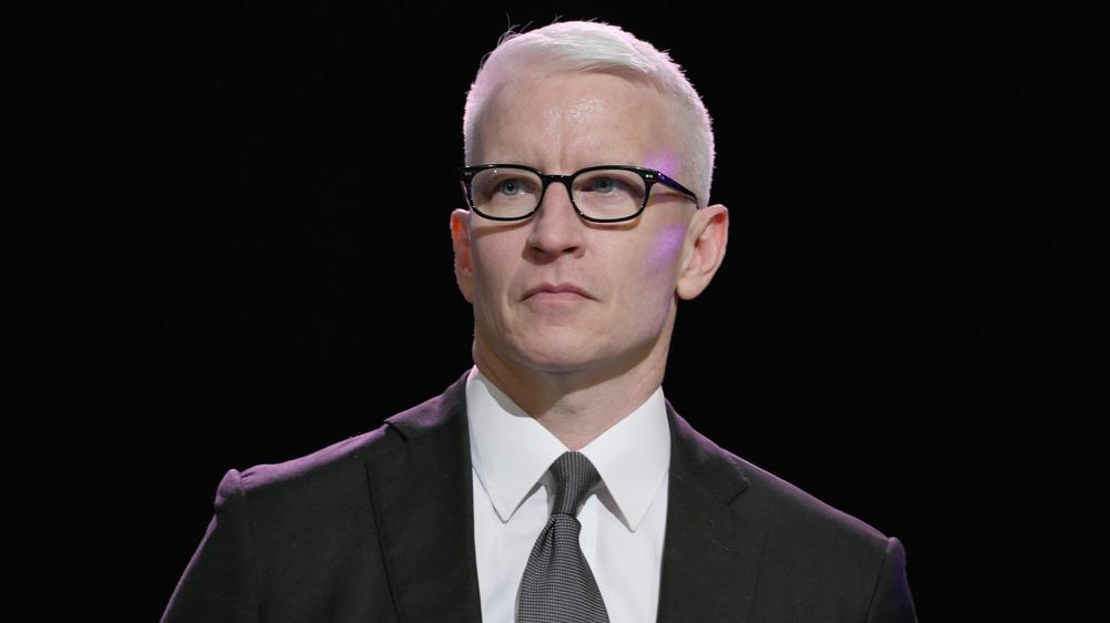 Anderson Cooper en el escenario
